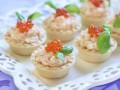 Новогодние рецепты: Тарталетки с печенью трески