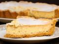 Летний творожно-банановый пирог