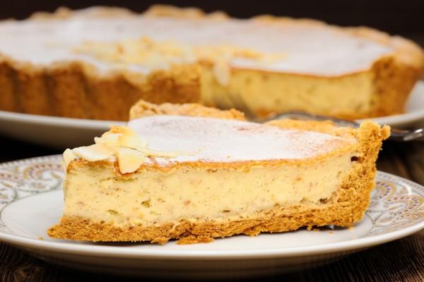 Пирог творожно-банановый – кулинарный рецепт