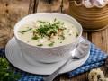 Суп из цветной капусты с хлебными крошками