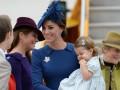 Кейт Миддлтон и принц Уильям впервые взяли дочь в официальную поездку