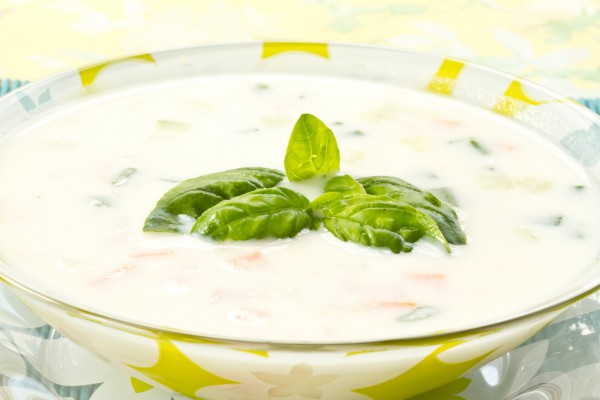 Рецепт                  Грузинский суп из мацони