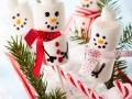 Детский Новый год: Снеговики из маршмэллоу