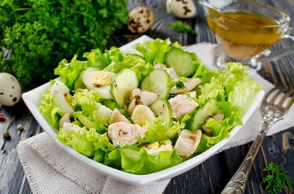 Рецепт                  Салат из печени трески: Рецепт