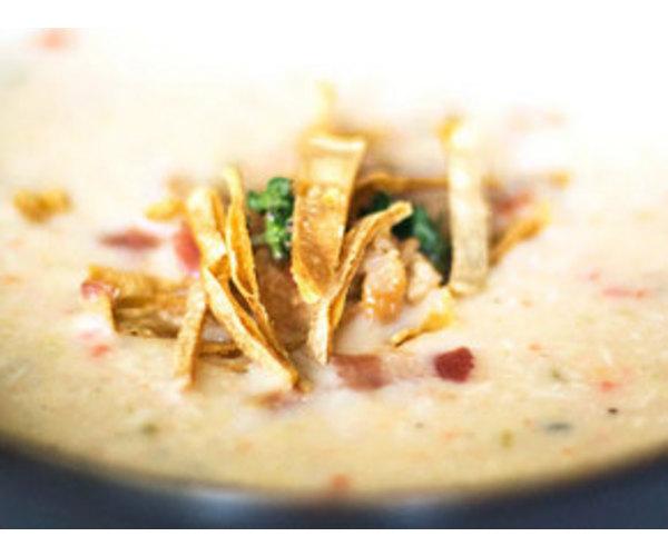 Рецепт                  Острый куриный чаудер с кукурузой