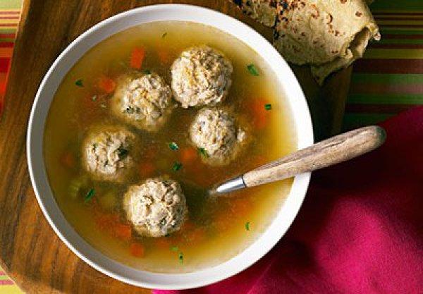 Рецепт                  Рецепт овощного супа с фрикадельками