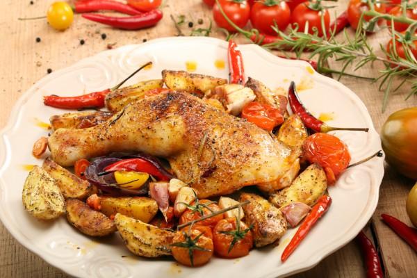 овощи целые в духовке запеченные рецепты