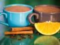 Горячий шоколад с апельсиновым вкусом