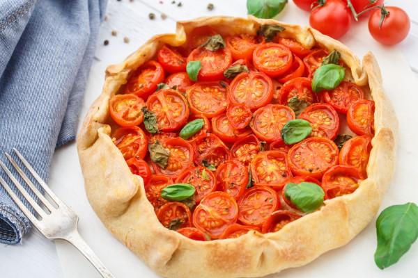 Рецепт                  Великий пост 2015: Галета с помидорами