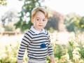 День рождения принца Джорджа: новые фото маленького наследника престола