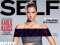 Карли Клосс снялась в экстремальной фотосессии для Self