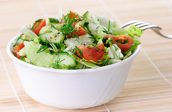 Рецепт                  Летние салаты из свежих овощей: ТОП-5 рецептов