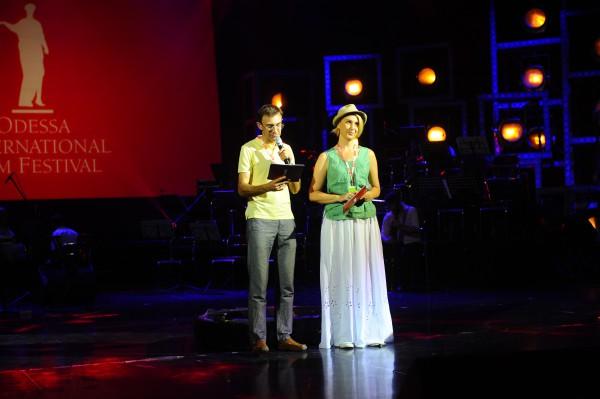 Снежана Егорова и Олег Панюта/ОМКФ 2014 /фото Юлия Мясоедова
