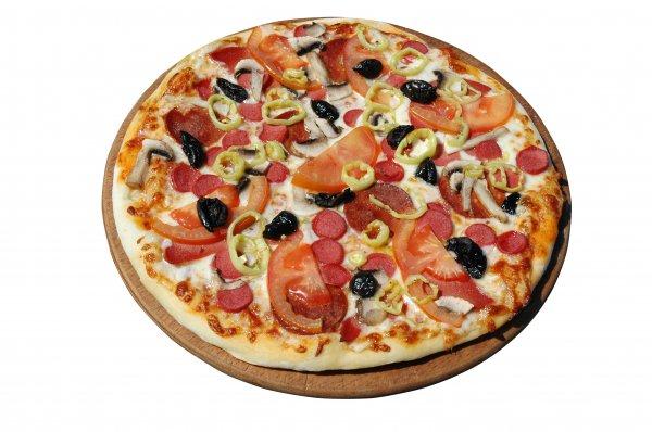 Рецепт                  Первоапрельская пицца