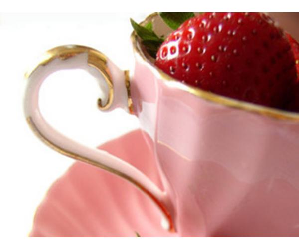 Рецепт                  Клубничный чай