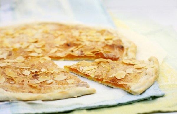 Рецепт                  Постный пирог с абрикосами