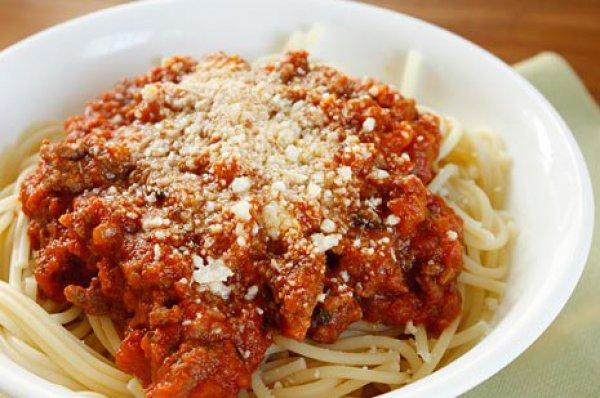 Рецепт                  Как приготовить спагетти болоньезе