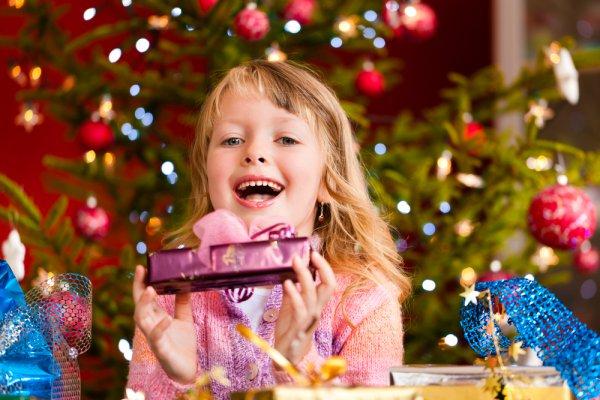 Ребенку будет приятно получить тот подарок, о котором он мечтал