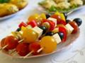Рецепты для пикника: Овощная закуска на шпажках
