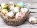 Как сделать декупаж пасхальных яиц (видео)