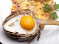 Запеченные артишоки с яйцом