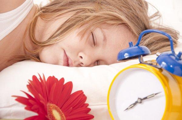 Дети школьного возраста плохо спят