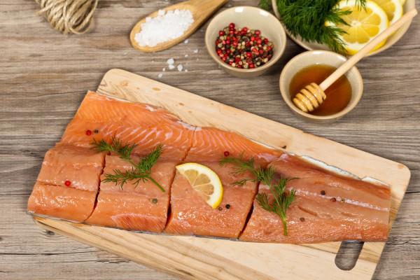 Рецепт                  Маринад для лосося на гриле
