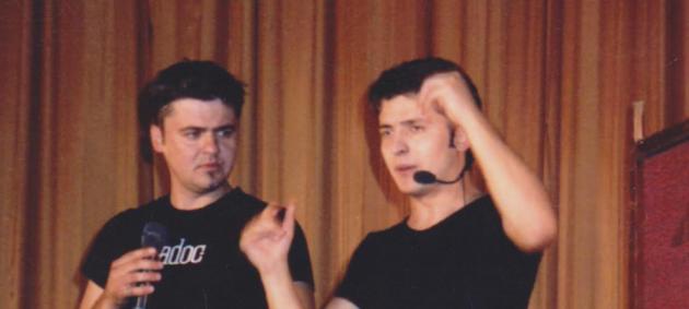 Актеры из Квартала 95 показали свои фото в молодости
