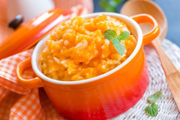 Рецепт                  Рисовая каша с тыквой в мультиварке