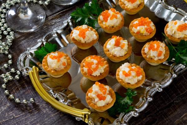 Салат из кальмаров на новый год рецепты