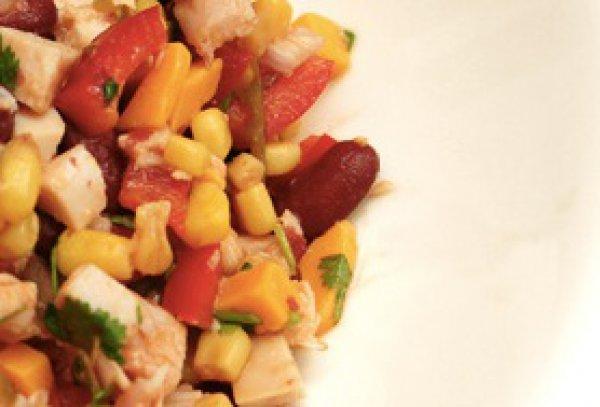 Рецепт                  Мексиканский салат