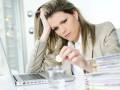 Стресс негативно влияет на работу женщины