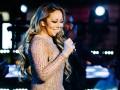 Мэрайя Кэри опозорилась на новогоднем концерте в Нью-Йорке
