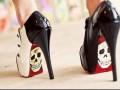 Креативная обувь 2011 от Taylor Reeve: разрисованная подошва