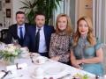 Тина Кароль встретилась с актерами сериала Хозяйка за чашкой чая