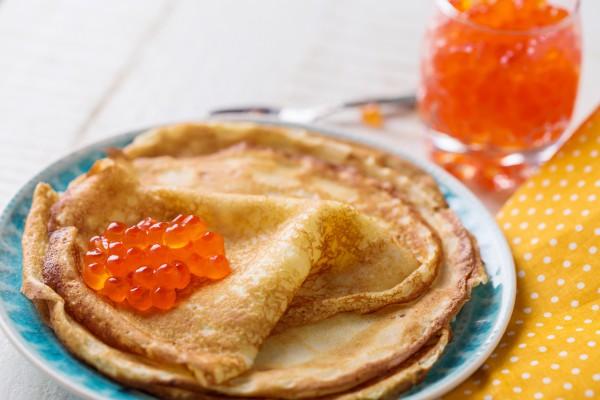 Рецепт                  Масленица 2015: Рецепт блинов на воде с яйцами