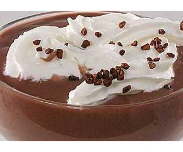 Рецепт                  Молочный кисель с шоколадом