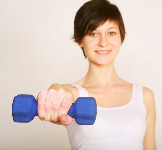 видеоуроки упражнений с гантелями 2 часть