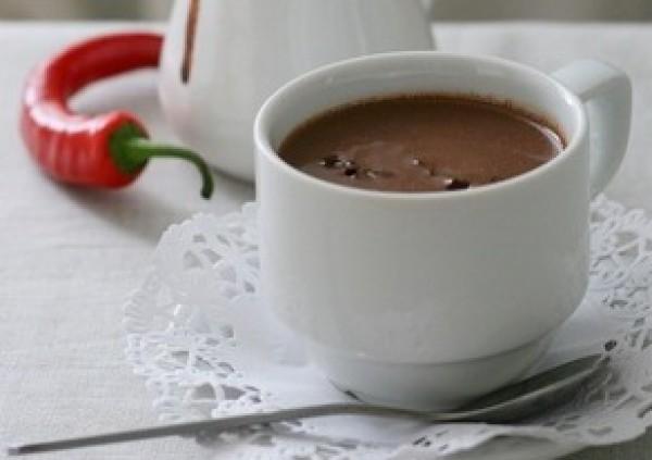Рецепт                  Горячий шоколад с перцем чили