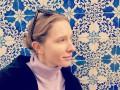 Катя Осадчая без макияжа позировала на фоне пейзажей Португалии