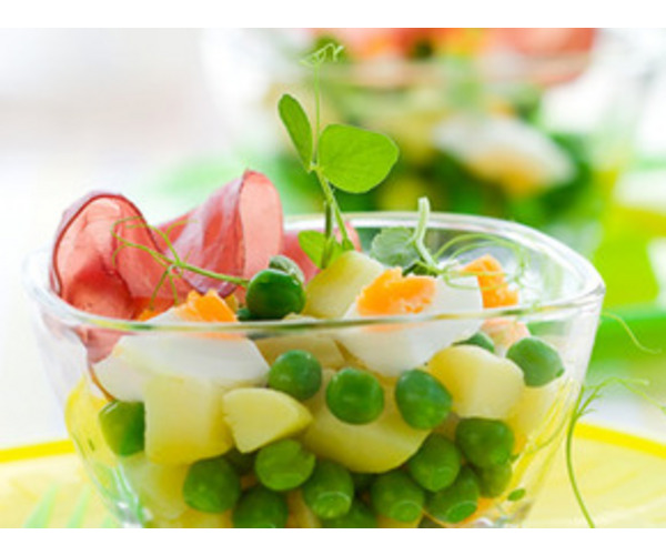 Рецепт                  Яркий салат