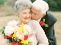 Это любовь: пара устроила фотосессию на 63-летие со дня свадьбы