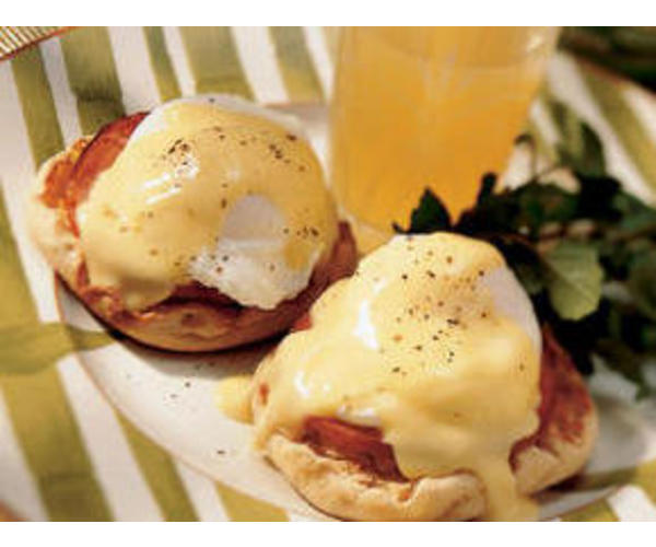 Рецепт                  Яйца-пашот по-английски