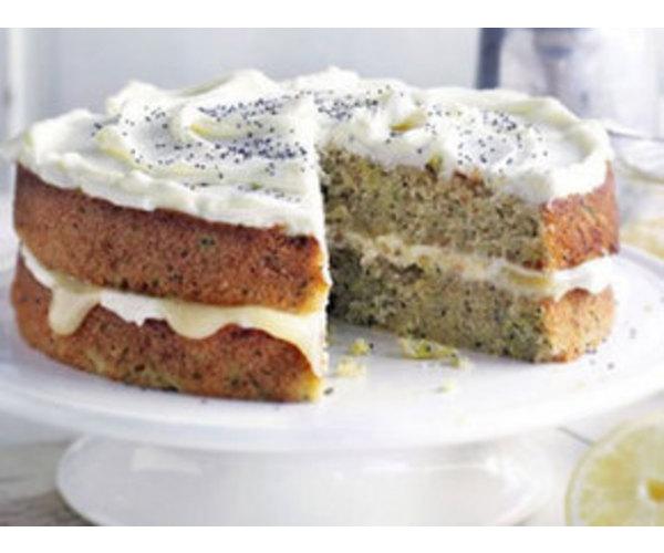Рецепт                  Кабачковый торт с лимонным кремом