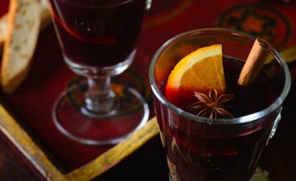 Рецепт                  Зимний пунш с коньяком и апельсином