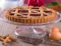 Торт Линцер с печеньем