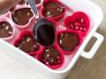 Как приготовить гранатовые конфеты с шоколадом