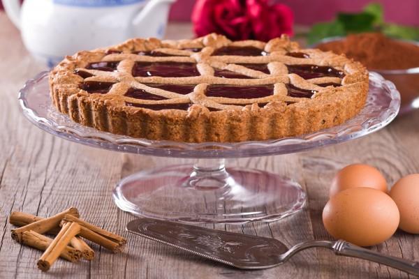 Рецепт                  Торт Линцер с печеньем