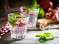 Детокс-напиток из граната, имбиря и лайма