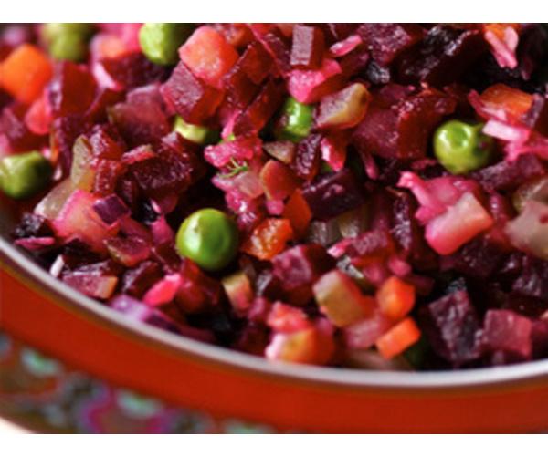 рецепты салатов с зеленым горошком и капустой
